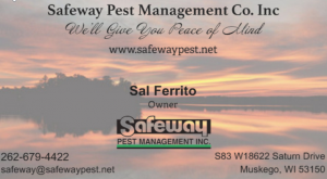 SafewayPestManagementCoInc